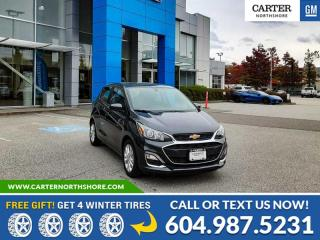 New 2022 Chevrolet Spark 1LT CVT REAR VIEW CAMERA - BLUETOOTH - SPOILER for sale in North Vancouver, BC