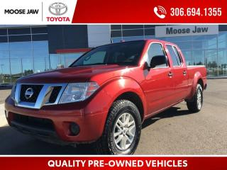 Used 2014 Nissan Frontier SV 4.0L V6, 5 SPEED AUTOMATIC, 4X4, CREWCAB, 6,300 LB TOWING CAPACITY, BLUETOOTH for sale in Moose Jaw, SK