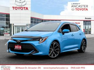Used 2019 Toyota Corolla Hatchback SE UPGRADE | WIRELESS CHARGING | BLIND SPOT SYSTEM for sale in Ancaster, ON