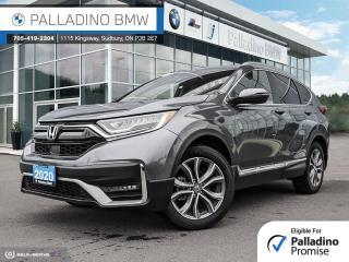 Used 2020 Honda CR-V Touring Remote Engine Start, Low KM, Adaptive Cruise Control for sale in Sudbury, ON
