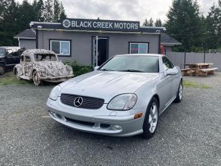 Used 2002 Mercedes-Benz SLK 320 for sale in Black Creek, BC