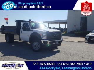 Used 2016 Ford F-550 Chassis XL F-550|DIESSE|4X4|HYDRAULIC DUMP for sale in Leamington, ON