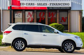Used 2015 Nissan Pathfinder SL | 4WD | Leather | Sunroof | Navi | Cam | DVD for sale in Oshawa, ON