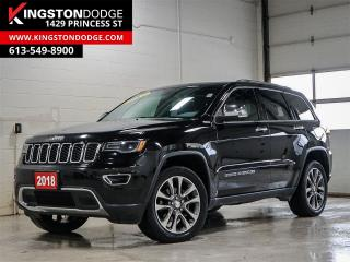 Used 2018 Jeep Grand Cherokee Limited | 4X4 | Pano-Sunroof | Leather | Nav | for sale in Kingston, ON