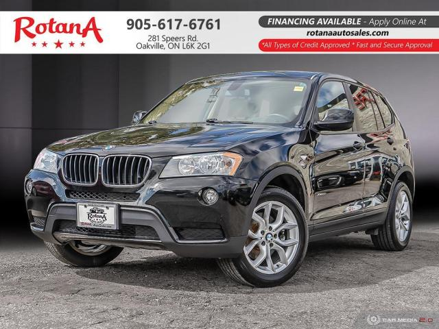 2013 BMW X3 28i_Leather_Panoramic Roof_Bluetooth_Rear Camera