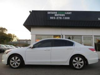 Used 2009 Honda Accord EX-L WITH NAVI, LEATHER, SUNROOF, HEATED SEATS for sale in Mississauga, ON