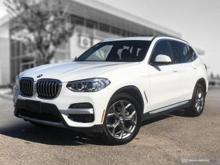 Used 2020 BMW X3 xDrive30i Enhanced! HUD! Pano Roof! Accident Free! for sale in Winnipeg, MB