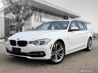Used 2016 BMW 3 Series 328i xDrive Enhanced! Sport Line! Red Leather! New Rear Brakes! for sale in Winnipeg, MB