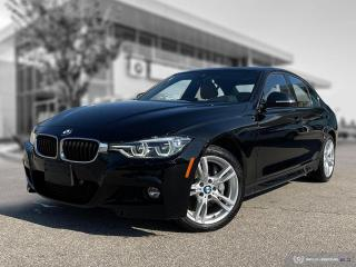 Used 2018 BMW 3 Series 330i xDrive M Sport Edition II! New Brakes! Local! for sale in Winnipeg, MB