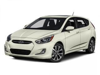 Used 2015 Hyundai Accent SE | Heated Seats | Bluetooth | Sunroof | for sale in Winnipeg, MB