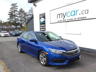 Used 2018 Honda Civic LX BACKUP CAM. HEATED SEATS. BLUETOOTH. A/C. for sale in Richmond, ON