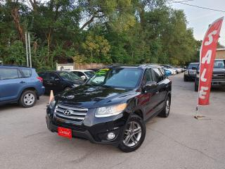 Used 2012 Hyundai Santa Fe LIMITED~LEATHER~SUNROOF*FULLY LOADED*CERTIFIED for sale in Mississauga, ON