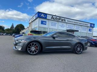 Used 2019 Ford Mustang EcoBoost Premium NAV | REAR CAMERA | LEATHER SEATS | HEATED SEATS | for sale in Brampton, ON