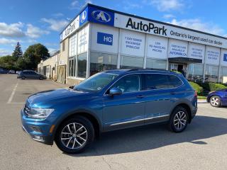 Used 2019 Volkswagen Tiguan Comfortline NAV | PANORAMIC ROOF | REAR CAMERA | HEATED SEATS | for sale in Brampton, ON
