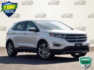 Used 2017 Ford Edge Titanium TITANIUM | ECOBOOST | 2.0L | AWD | BLIND SPOT MONITORING SYS | HEATED STEERING WHEEL | HEATED & COOL for sale in Waterloo, ON