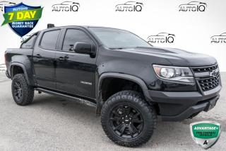 Used 2019 Chevrolet Colorado ZR2 ONE OWNER!!! HEATED SEATS!!! TOWING PACKAGE!!! for sale in Barrie, ON