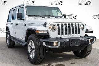 Used 2021 Jeep Wrangler Unlimited Sahara DEALER DEMO for sale in Innisfil, ON