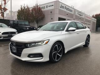 Used 2018 Honda Accord Sedan SPORT**LOW KMS**FULLY LOADED for sale in Surrey, BC