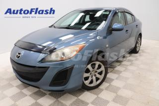 Used 2010 Mazda MAZDA3 2.0L *A/C *CRUISE *GR-ELECTRIQUE for sale in Saint-Hubert, QC