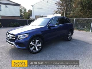 Used 2018 Mercedes-Benz GLC 300 360 CAM  PARK ASSIST  NAVI  BLIS  PANO ROOF  HTD S for sale in Ottawa, ON