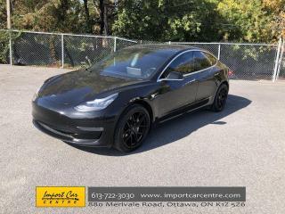 Used 2019 Tesla Model 3 Long Range LONG RANGE  NEW TIRES  NAVI  BLIS  PANO for sale in Ottawa, ON