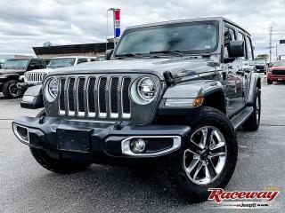 Used 2020 Jeep Wrangler   HEATED LEATHER   LED   SAFETY GRP for sale in Etobicoke, ON