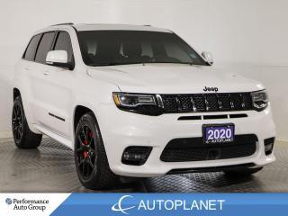 Used 2020 Jeep Grand Cherokee SRT 4x4, HEMI, Navi, Brembo Red Brakes/Seat Belts! for sale in Brampton, ON