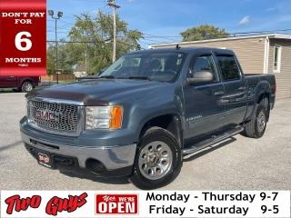 Used 2009 GMC Sierra 1500 SLE | 5.3L V8 Crew | Tow Pkg | 6 Pass | for sale in St Catharines, ON