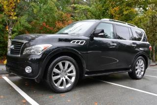 Used 2012 Infiniti QX56 7 Passenger 4WD for sale in Vancouver, BC