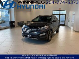 Used 2016 Hyundai Santa Fe Sport PREMIUM - Heated seats, Heated steering wheel, Remote vehicle starter for sale in Winnipeg, MB