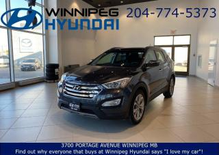 Used 2016 Hyundai Santa Fe LIMITED - AWD, Back up Camera, Heated front seats, Sunroof, Remote vehicle starter for sale in Winnipeg, MB