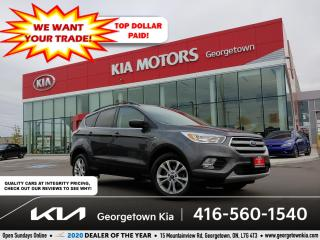 Used 2018 Ford Escape SE | 1 OWNR | NAV| HTD SEATS | BU CAM | BT| ALLOYS for sale in Georgetown, ON