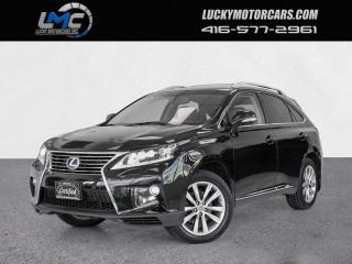 Used 2015 Lexus RX 450h AWD HYBRID EXECUTIVE-SUNROOF-DVD-NO ACCIDENTS-CERTIFIED for sale in Toronto, ON