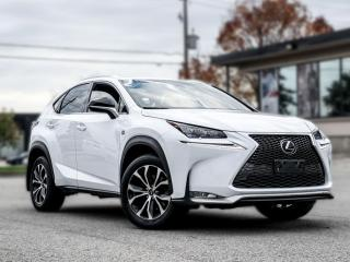 Used 2017 Lexus NX 200t F-SPORT3|NAV|ROOF|B.SPOT|HUD |ACC|LANE ASSIST |LOADED for sale in North York, ON