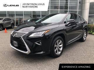 Used 2019 Lexus RX 350 8A / Premium With Navigation Package / One Owner / for sale in North Vancouver, BC