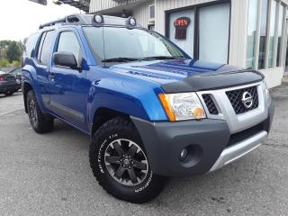 Used 2014 Nissan Xterra PRO-4X 4WD - LEATHER! NAV! BACK-UP CAM! 6-SPEED MT! for sale in Kitchener, ON