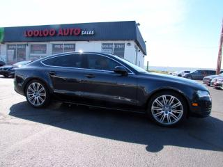 Used 2013 Audi A7 3.0T Premium Quattro Navigation Sunroof Certified for sale in Milton, ON