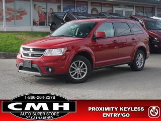 Used 2014 Dodge Journey SXT  V6 DUAL-CLIM-CTRL PROX-ENTRY 17-AL for sale in St. Catharines, ON