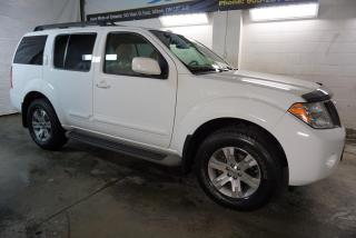 Used 2010 Nissan Pathfinder SE 4x4 7 PSSNGRS CAMERA CERTIFIED 2YR WARRANTY DVD BLUETOOTH HEATED ALLOYS CRUISE for sale in Milton, ON
