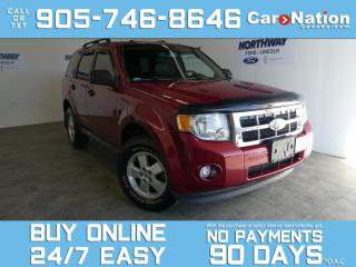 Used 2012 Ford Escape XLT | V6 | LEATHER | SUNROOF | SYNC | 1 OWNER for sale in Brantford, ON
