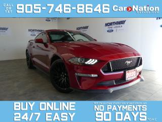 Used 2020 Ford Mustang GT PREMIUM | PERFORMANCE PKG | ACTIVE VALVE | NAV for sale in Brantford, ON