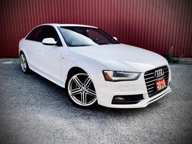 2016 Audi A4 Progressive Plus, S-LINE, quattro AWD, Navi, B-cam, Roof,