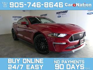 Used 2021 Ford Mustang GT   PERFORMANCE PKG   ACTIVE VALVE EXHAUST  460HP for sale in Brantford, ON