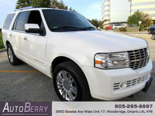 Used 2011 Lincoln Navigator 4WD Accident Free! for sale in Woodbridge, ON