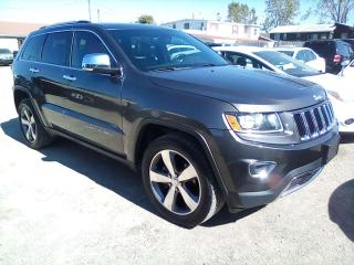 Used 2015 Jeep Grand Cherokee LIMITED 4WD for sale in Leamington, ON