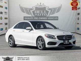 Used 2017 Mercedes-Benz C-Class C 300, AWD, AMG Pkg, Navi, RearCam, Pano, NoAccident, B.spot for sale in Toronto, ON