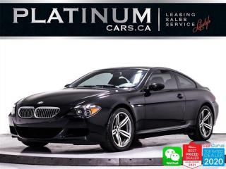 Used 2006 BMW M6 RWD, 5.0L V10, 500HP, LIMITED SLIP DIFFERENTIAL for sale in Toronto, ON