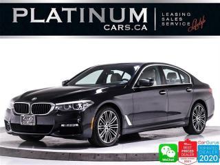 Used 2017 BMW 5 Series 530i xDrive, AWD, MSPORT, NAV, HEATED SEATS, HUD for sale in Toronto, ON