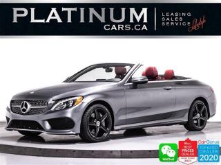 Used 2018 Mercedes-Benz C-Class C 300 4MATIC CONVERTIBLE, AMG PKG, 360CAM, NAV for sale in Toronto, ON