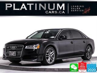 Used 2018 Audi A8 4.0T LWB Quattro, V8, TURBOCHARGED, 360CAM, NAV for sale in Toronto, ON